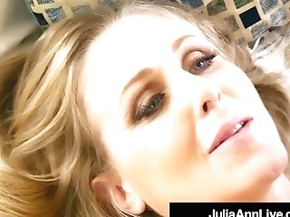 Hot Step Mommy Julia Ann Gets Nude & Ultra-kinky With Step Son-in-law!