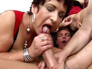 Taboo Group Romp With Matures Moms And Granny