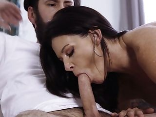 Stunning Cougar India Summer Tempts Sista's Egghead Spouse And Bangs Him Like A Wild Whore