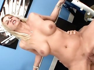 Blonde Cougar Gets Fucked Hard