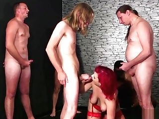 Wicked Idol Gets Sperm Geyser On Her Face Drinking All The Sperm