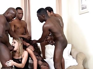 My Mom And Coworker Breezy Get Face Puss Fucked Black