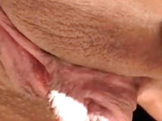 Big Pleasure Button And Meaty Snatch