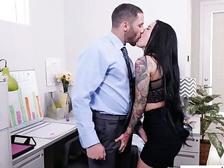 Office Super-bitch Katrina Jade Hooks Up With Hot Blooded Manager's Assistant