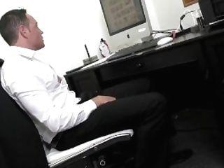 Wankz- Supah Cougar Manager Mercedes Entices Coworker