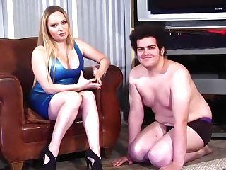 Exotic Pornographic Star Aiden Starr In Horny Cougar, Blonde Romp Scene