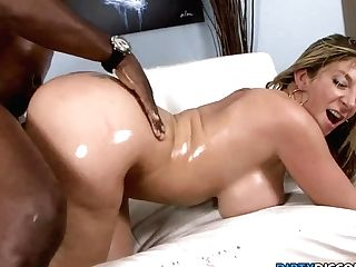 Interracial Phat Booty Cougar Squirts On Big Black Cock