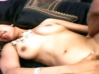 Greedy Indian Teenage Bitch Fucks And Bj's Dick On The Sofa