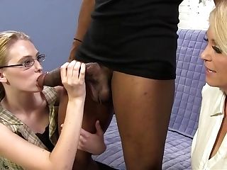 Big Black Man Sausage For Mom Charlee Chase And Samantha Faye
