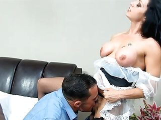 Whorish Tattooed Breezy Gets Her Poon Gobbled And Gives Anxious Deep Throat