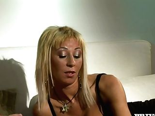Dirty Threesome With Gorgeous Dark Haired Mom Stella Folliero
