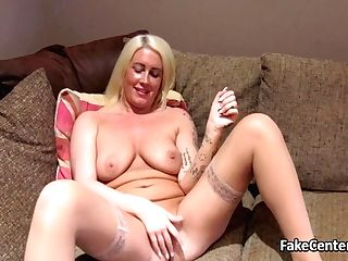 Nylon Stockings Cougar Fucked On Casting