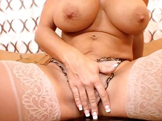 Big-titted Cougar In Sexy Undergarments Amber Lynn Bach Gives Nice Oral Pleasure - Point Of View