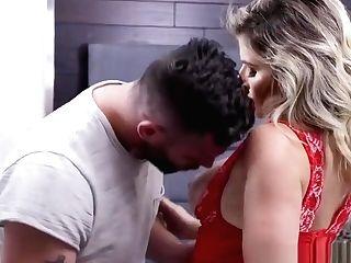 Hot Blonde Mummy Cory Chase Rails A Man Sausage